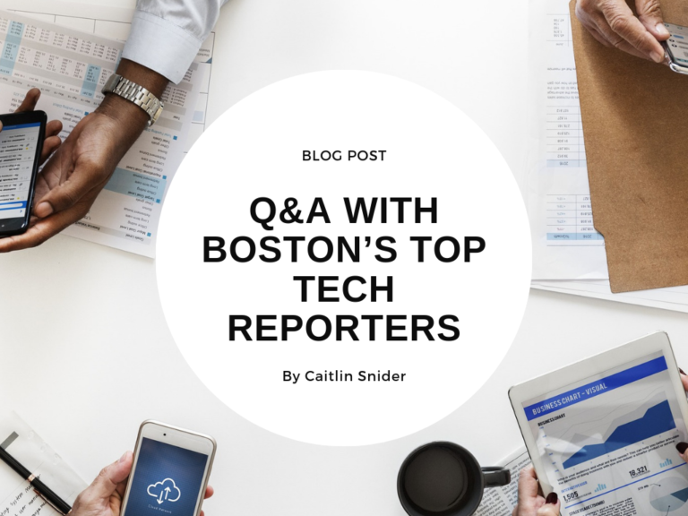 PR Club: Q&A with Boston Tech Reporters