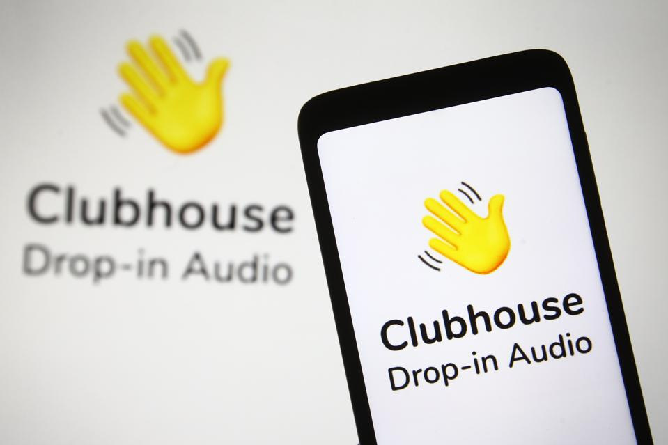 Blog Header: Clubhouse Drop-In Audio